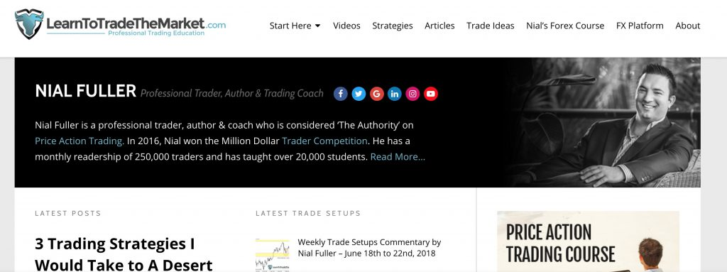 Nial Fuller Corsi di Trading